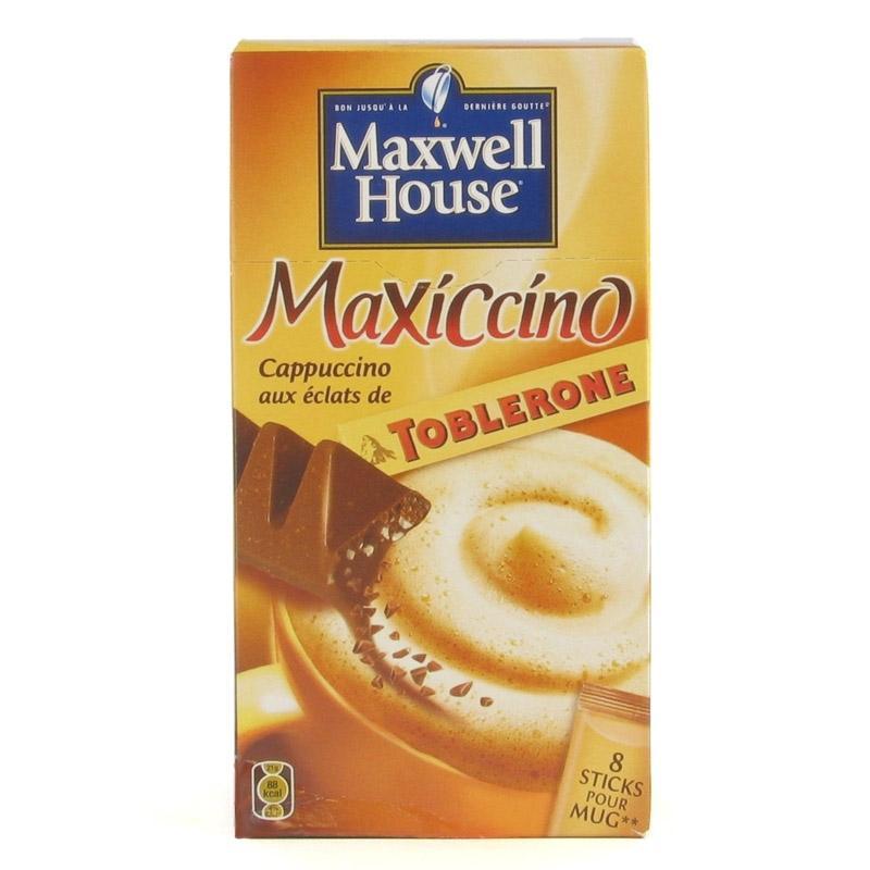 Cappuccino maxwell house toblerone