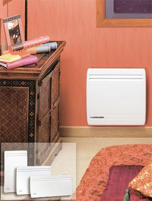 applimo s a produits radiateurs electriques convecteurs. Black Bedroom Furniture Sets. Home Design Ideas