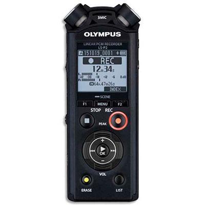 ENREGISTREUR NUMÉRIQUE PRO OLYMPUS LS-P2 - 4GO - USB - MP3/PCM