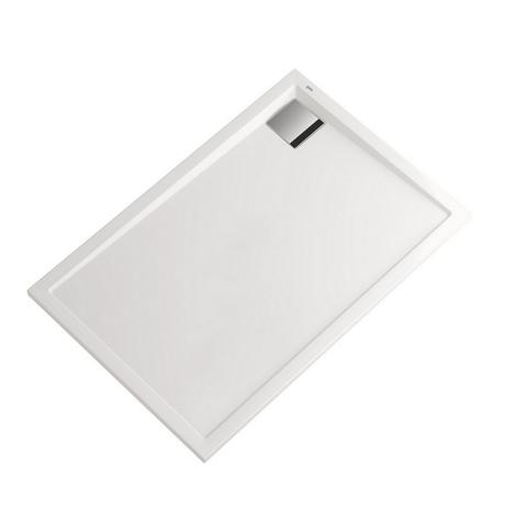receveur de douche acrylique blanc 100x70x3cm sigma comparer les prix de receveur de douche. Black Bedroom Furniture Sets. Home Design Ideas
