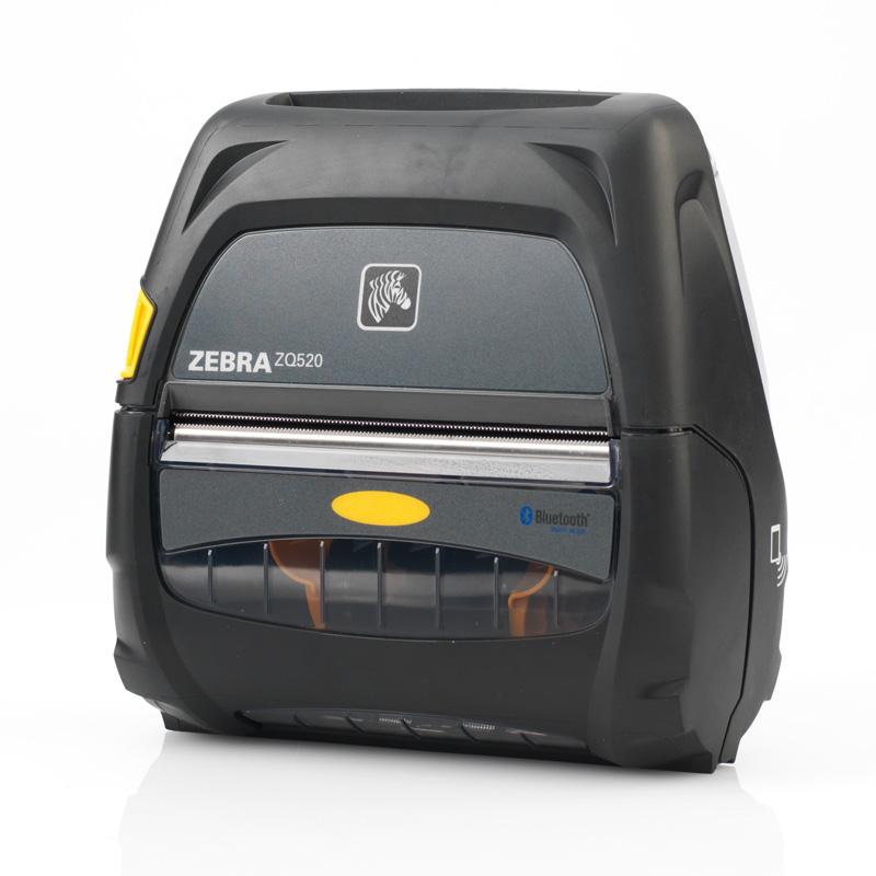 imprimante codes barres mobile zq520 zebra. Black Bedroom Furniture Sets. Home Design Ideas