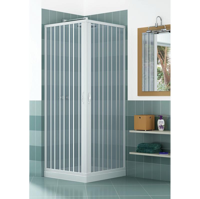 blun2concc28070080 cabine de douche angulaire en pvc. Black Bedroom Furniture Sets. Home Design Ideas