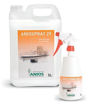 Produits desinfectants et savon anios for Produit nettoyage cuisine professionnel