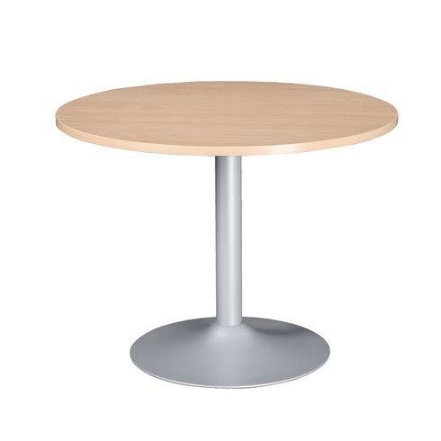 Table ronde 80 cm excellens h tre pied colonne comparer - Table ronde 80 cm ...