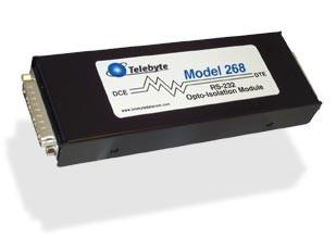 Tbyt268 - module d'isolation opto electrique rs232 19,2kbps db25