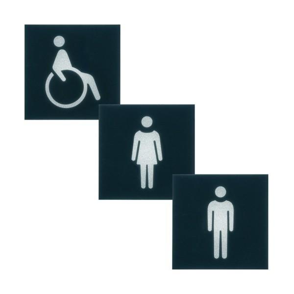 ETIQUETTE VOYANT 2M WC - APPAREILLAGE MURAL GALLERY HAGER WXA604