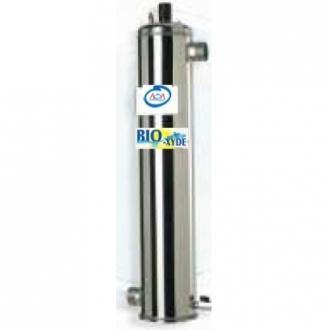 Désinfection par uv et ozone bio-xyde complexe 3 aoa pour piscine 120 m3