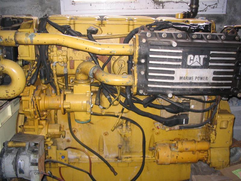 moteur marin caterpillar type 3406 b