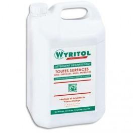 WYRITOL PROFESSIONNEL DÉTERGENT DESINFECTANT 5L