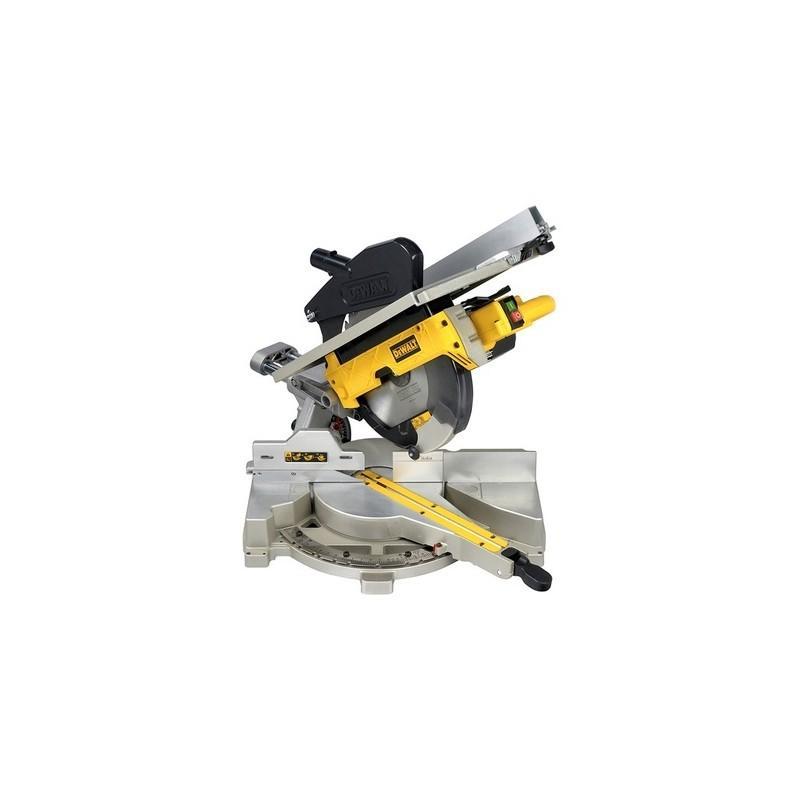 D27111-qs. scie à onglets radiale à table supérieure 1500watts dewalt 305mm