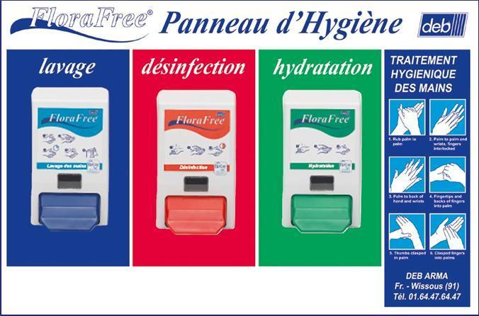 Panneau d 39 hygiene - Protocole de lavage des mains en cuisine ...