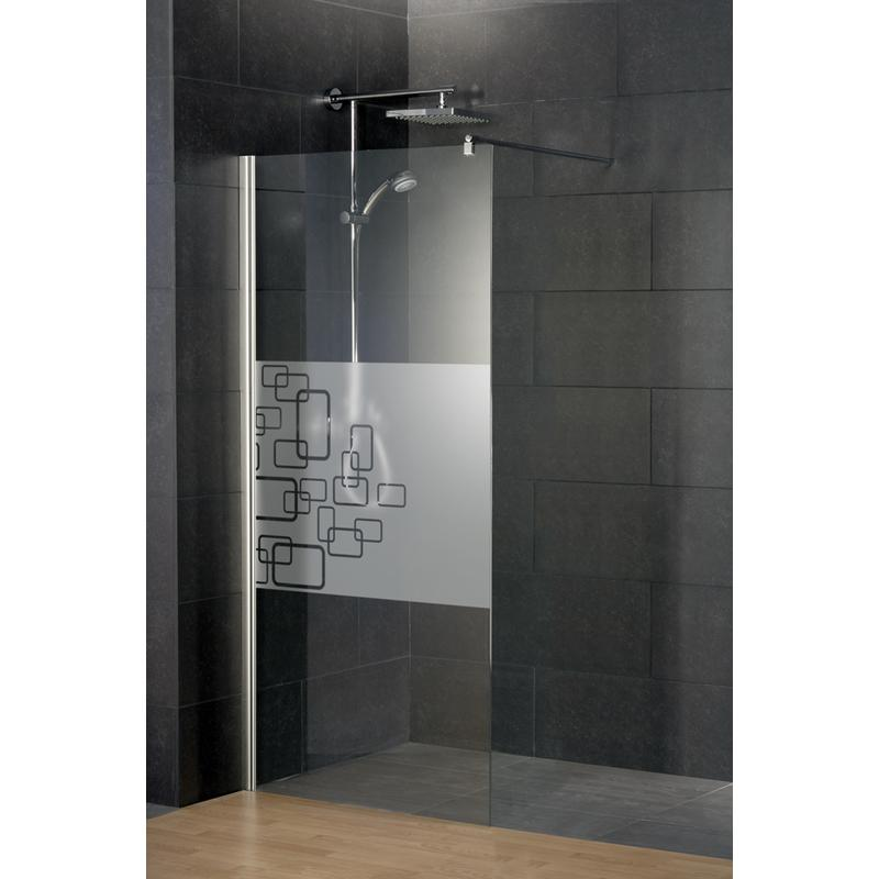 paroi de douche fixe walk in style 2 0 anticalcaire d cor softcube schulte 90 x 190 cm. Black Bedroom Furniture Sets. Home Design Ideas