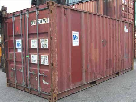 Container Standard 10 Pieds D Occasion