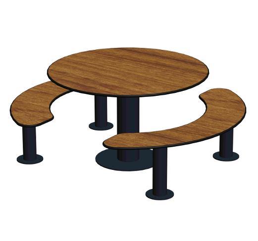 table de pique nique ta 183. Black Bedroom Furniture Sets. Home Design Ideas