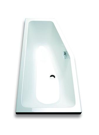 baignoire d angle 90x90 barre duangle pour rideau de douche universel coloris blanc vente de. Black Bedroom Furniture Sets. Home Design Ideas