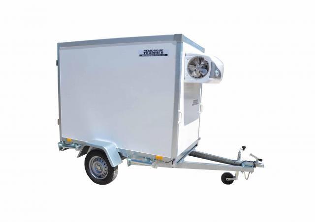 Fk2010-75 - remorque frigorifique - remorques tournier - charge utile 340 kg
