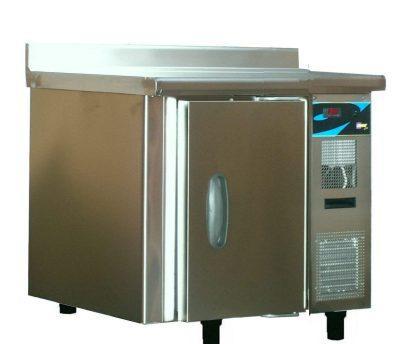 Meuble bas réfrigéré euro 600 x 400 - 1 porte -18° -22° c - demontable simple acces - semi-equipe
