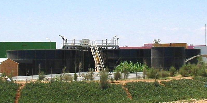 Station d'epuration eaux industrielles et domestiques