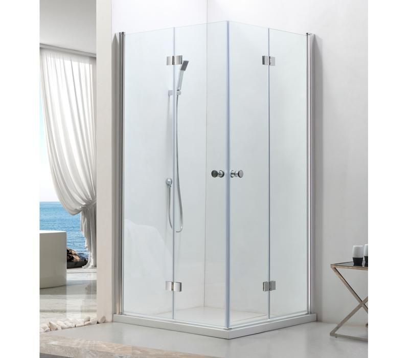 Ecrans et parois de douche comparez les prix pour - Porte de douche avec paroi fixe ...