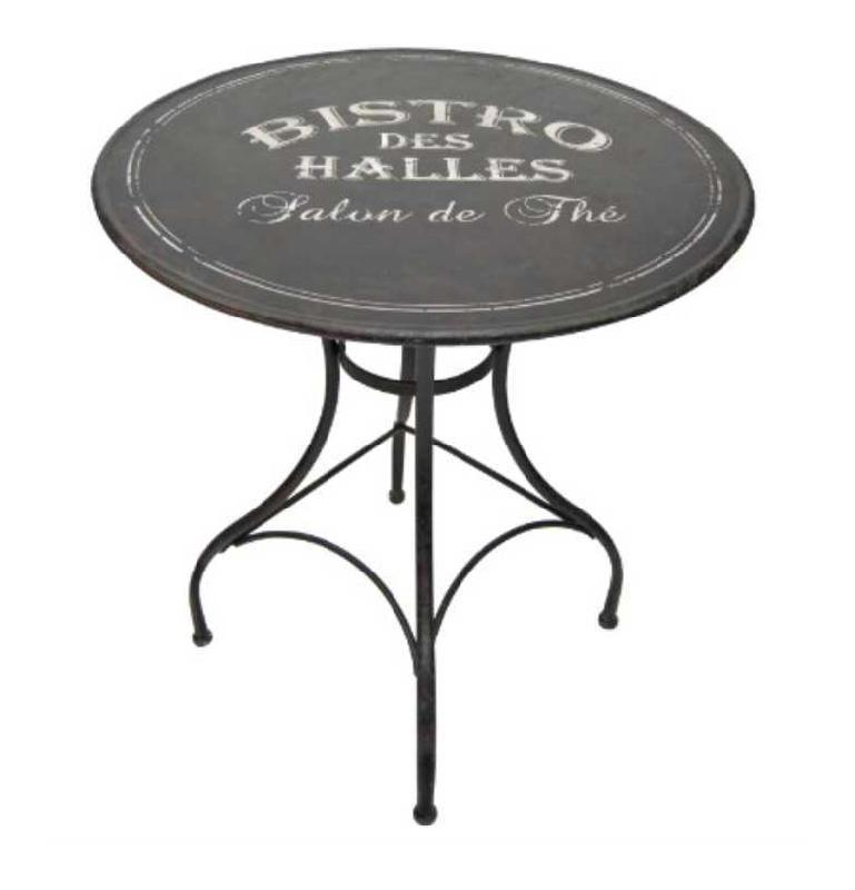table de bistrot ronde pi tement en fonte 1900 et plateau en ch ne pictures to pin on pinterest. Black Bedroom Furniture Sets. Home Design Ideas