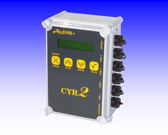 Enregistreur de donnees multi-voies - cyr2