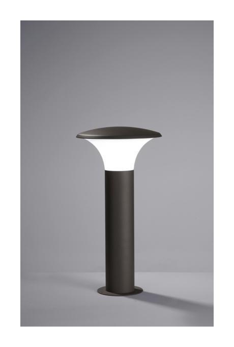 BORNE EXTÉRIEURE LED TRIO KONGO GRIS ANTHRACITE ALUMINIUM 520160142