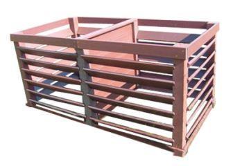 Composteur double vario system