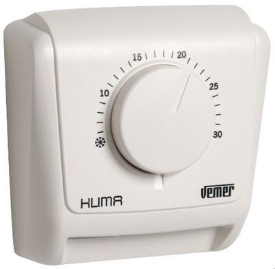 thermostat mecanique mural klima 2 ve018800. Black Bedroom Furniture Sets. Home Design Ideas