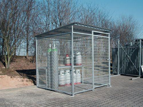 cabine de stockage pour bouteilles de gaz. Black Bedroom Furniture Sets. Home Design Ideas