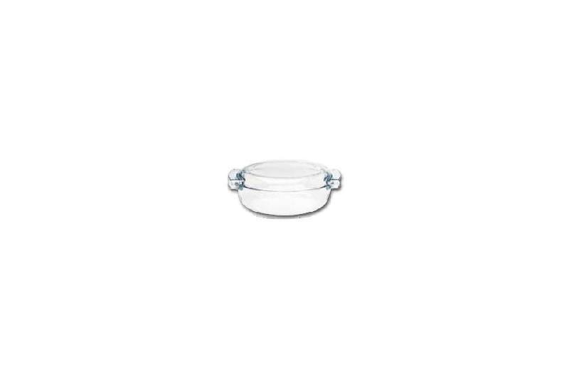 cocotte ovale en verre transparent pyrex professionnelle. Black Bedroom Furniture Sets. Home Design Ideas