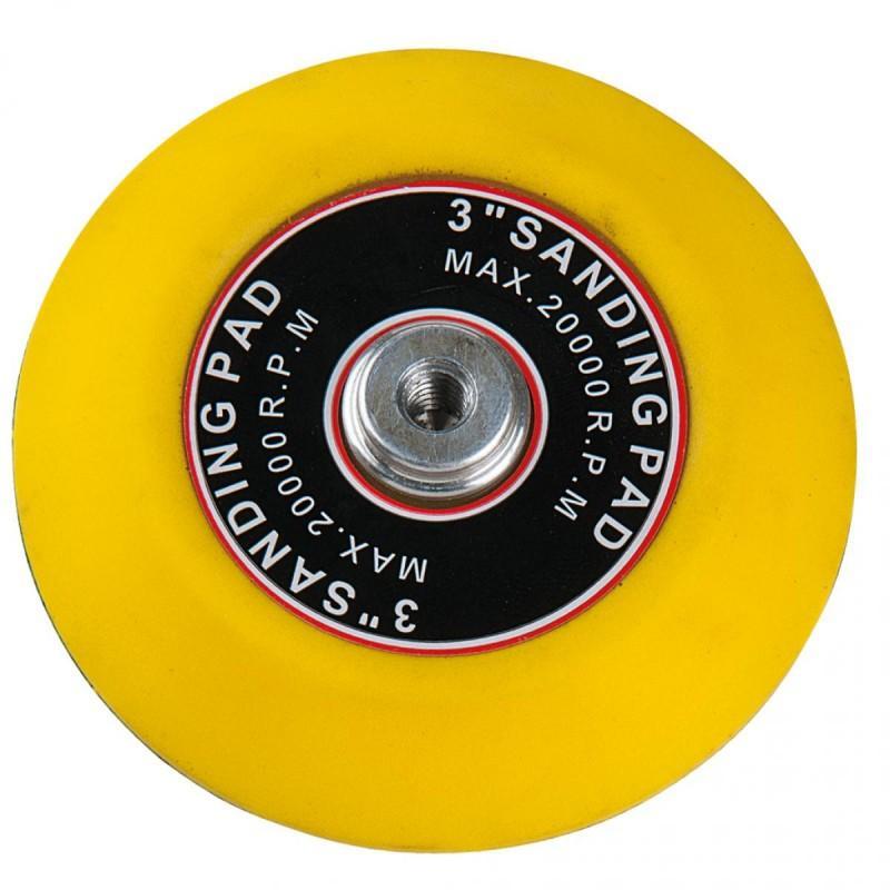 Plateau pour disque de ponçage ø 75mm souple pour 515.5125 5 pcs kstools
