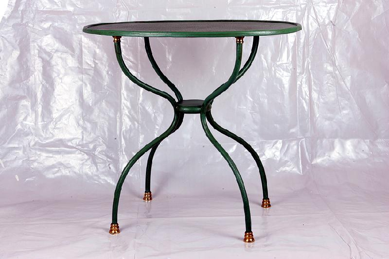 Table ovale bistrot taov001c - Table bistrot marbre ovale ...