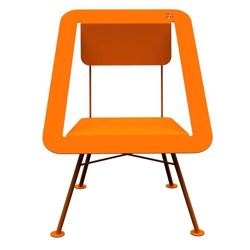 Chaise Jardin Orange 4x4 Different