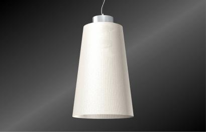 luminaire suspendu en matiere textile milano 480. Black Bedroom Furniture Sets. Home Design Ideas