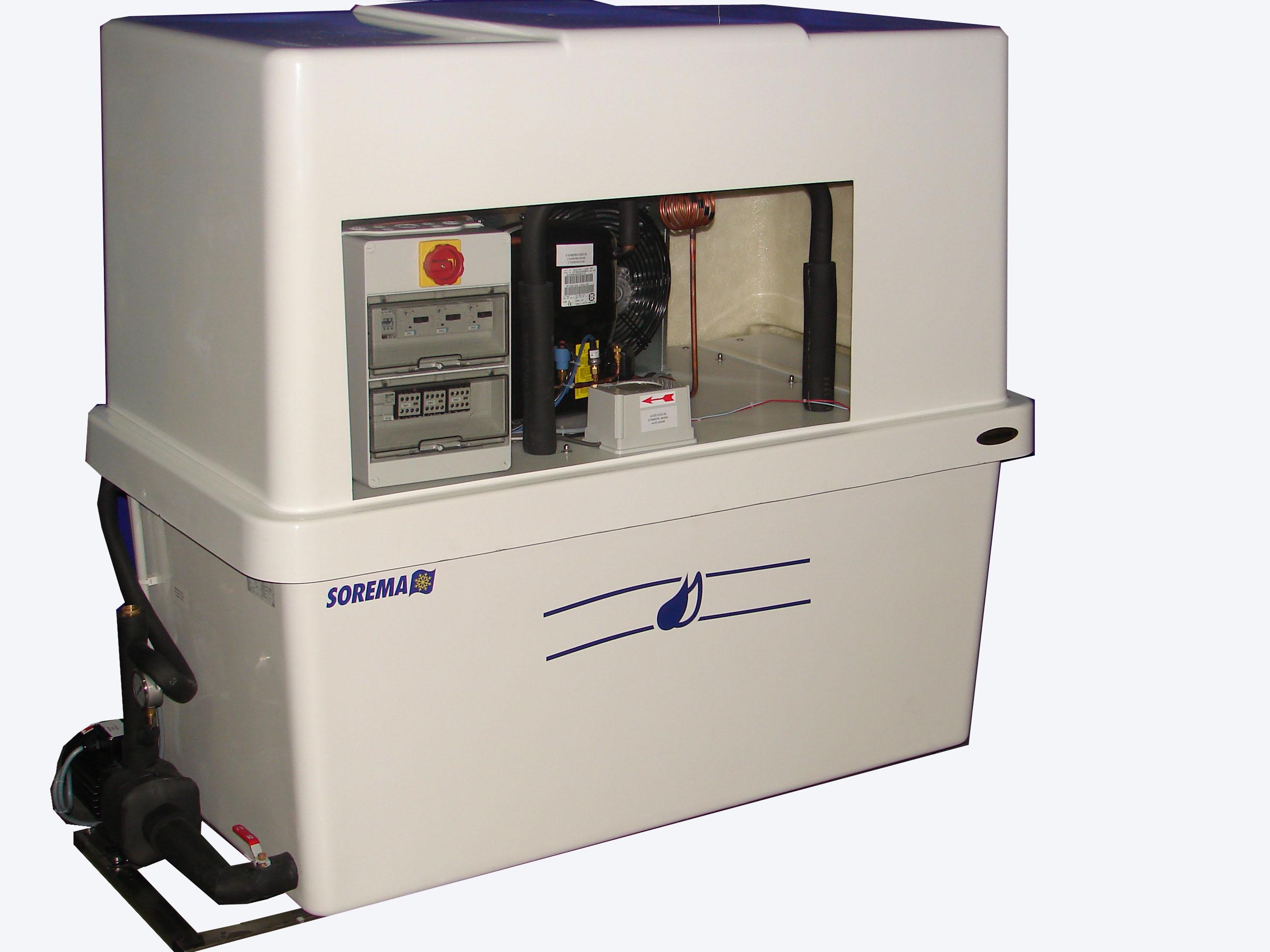 Refroidisseur d'eau glacée agd 250 p - sorema