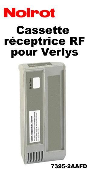 CASSETTE DE PROGRAMMATION - NOIROT - CASSETTE RÉCEPTRICE RF NOIRE (VERLYS)