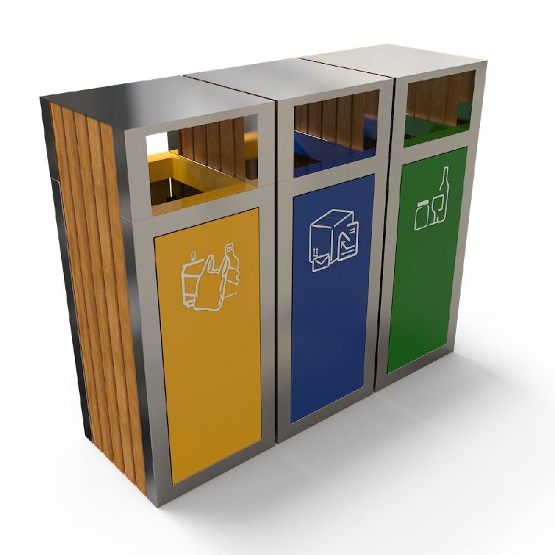poubelle tri s lectif 3 bacs tous les fournisseurs de. Black Bedroom Furniture Sets. Home Design Ideas