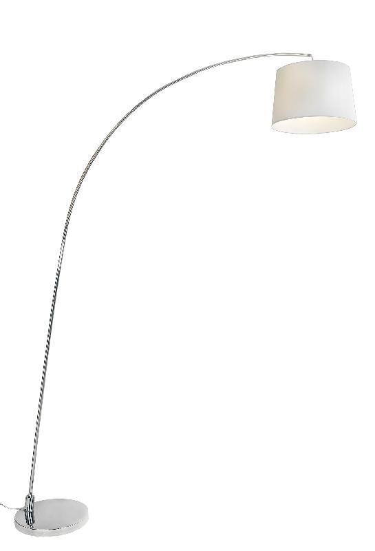 Lampadaire design arc ls blanc
