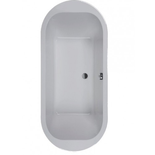 baignoire frisbee ovale en ilot 180 x 80 cm leda. Black Bedroom Furniture Sets. Home Design Ideas