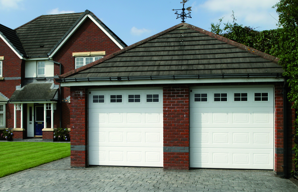 Portes de garage sectionnelles tous les fournisseurs porte garage sectionnelle lat rale - Porte de garage eveno ...