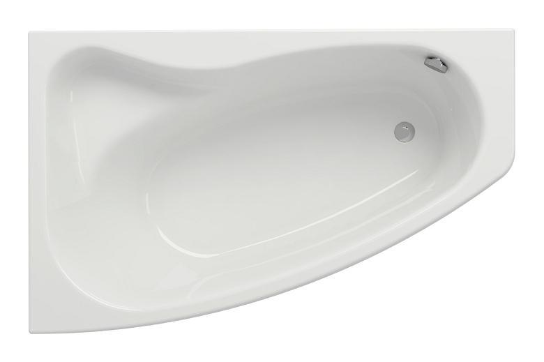Baignoire rectangulaire design /Ã/ encastrer en acrylique 150x75 150cm x 75cm tablier central CERSANIT