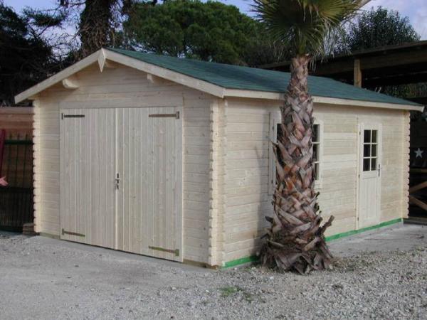 abris clotures et jardins de provence produits garages et carports en bois. Black Bedroom Furniture Sets. Home Design Ideas