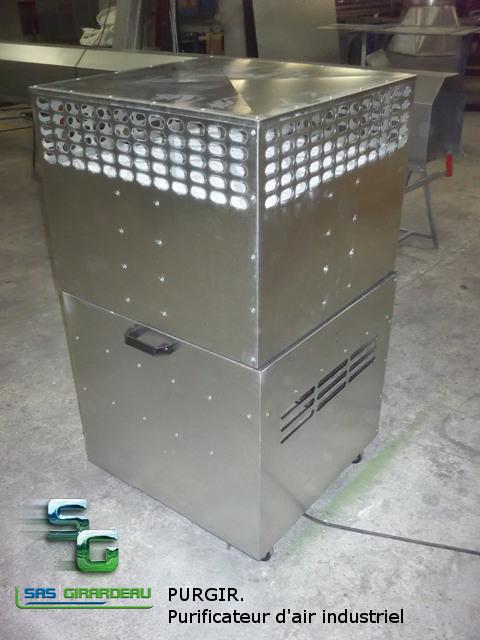 purificateur d 39 air industriel portatif purgir. Black Bedroom Furniture Sets. Home Design Ideas