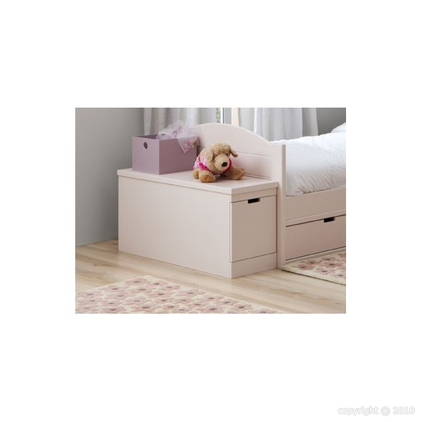 coffre de rangement avec tiroir liso asoral. Black Bedroom Furniture Sets. Home Design Ideas