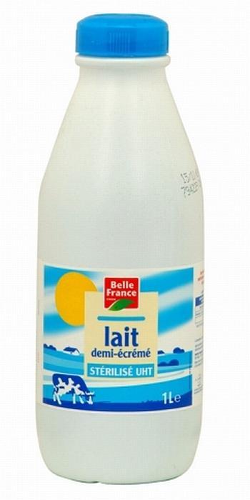 LAIT DEMI-ÉCRÉMÉ 1L X 6