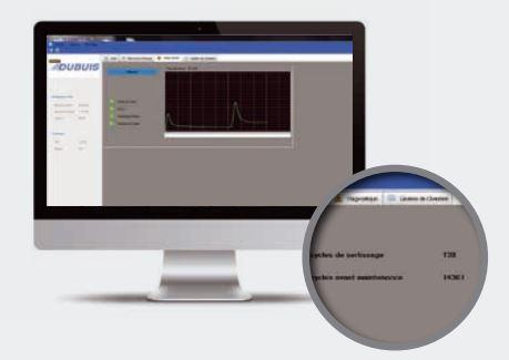 Logiciel de contrôle crimp  control software