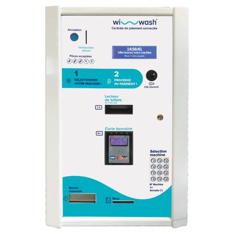 Centrale de paiement wi-wash