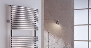 radiateur de decoration nancy inox poli seche linge. Black Bedroom Furniture Sets. Home Design Ideas