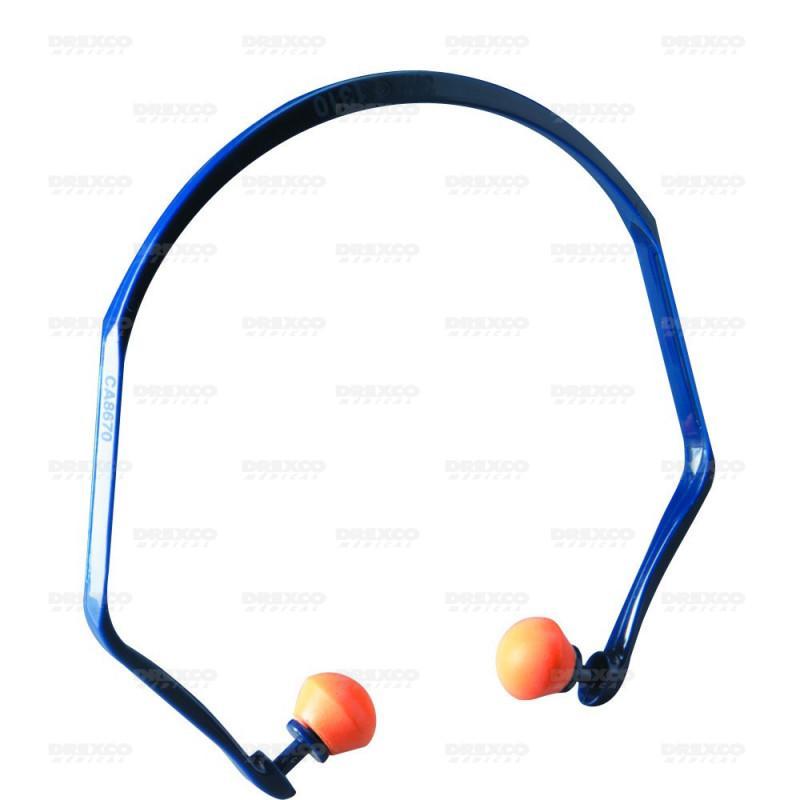 Arceau anti-bruit semi-auriculaire
