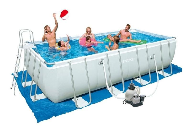 Piscines intex achat vente de piscines intex for Piscine tubulaire rectangulaire 549 x 274 x 122 cm